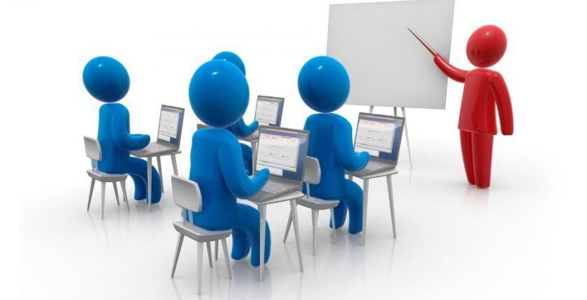 teaching class