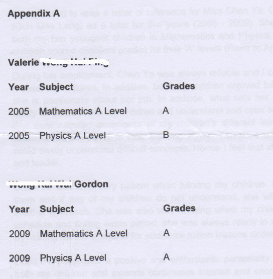 meeleng grades after tuition with future academy