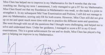 Math improvement