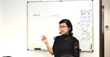 ex-RGS Mathematics and Physics teacher Ms Chen