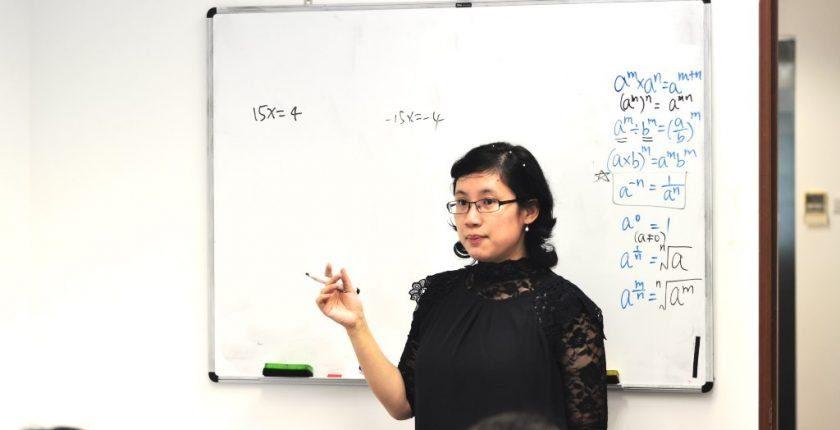 ex-RGS Mathematics and Physics teacher Ms Chen