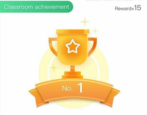 Trophy in Online Interactive Classes
